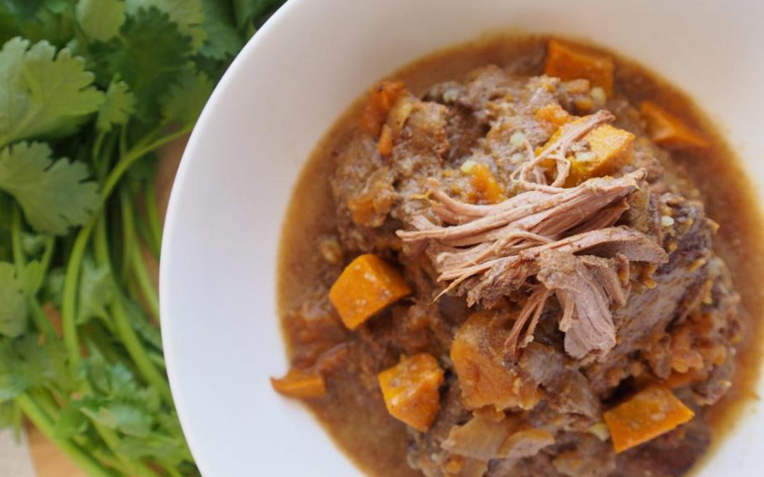 Slow Cooked Lamb & Pumpkin Curry