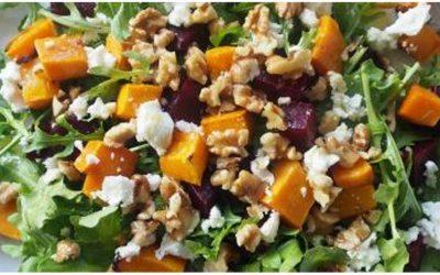 Roast Pumpkin & Beetroot Salad