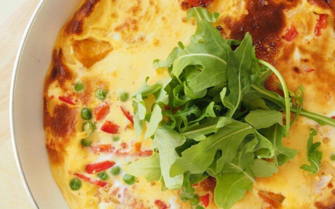 Roast Vegetable Frittata Recipe