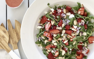 Alyse recipe : Strawberry & Rocket Salad