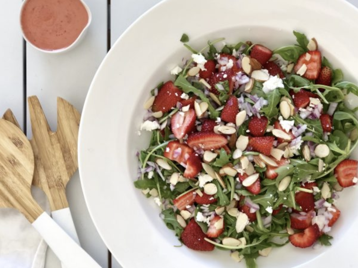 Strawberry & Rocket Salad by Alysa